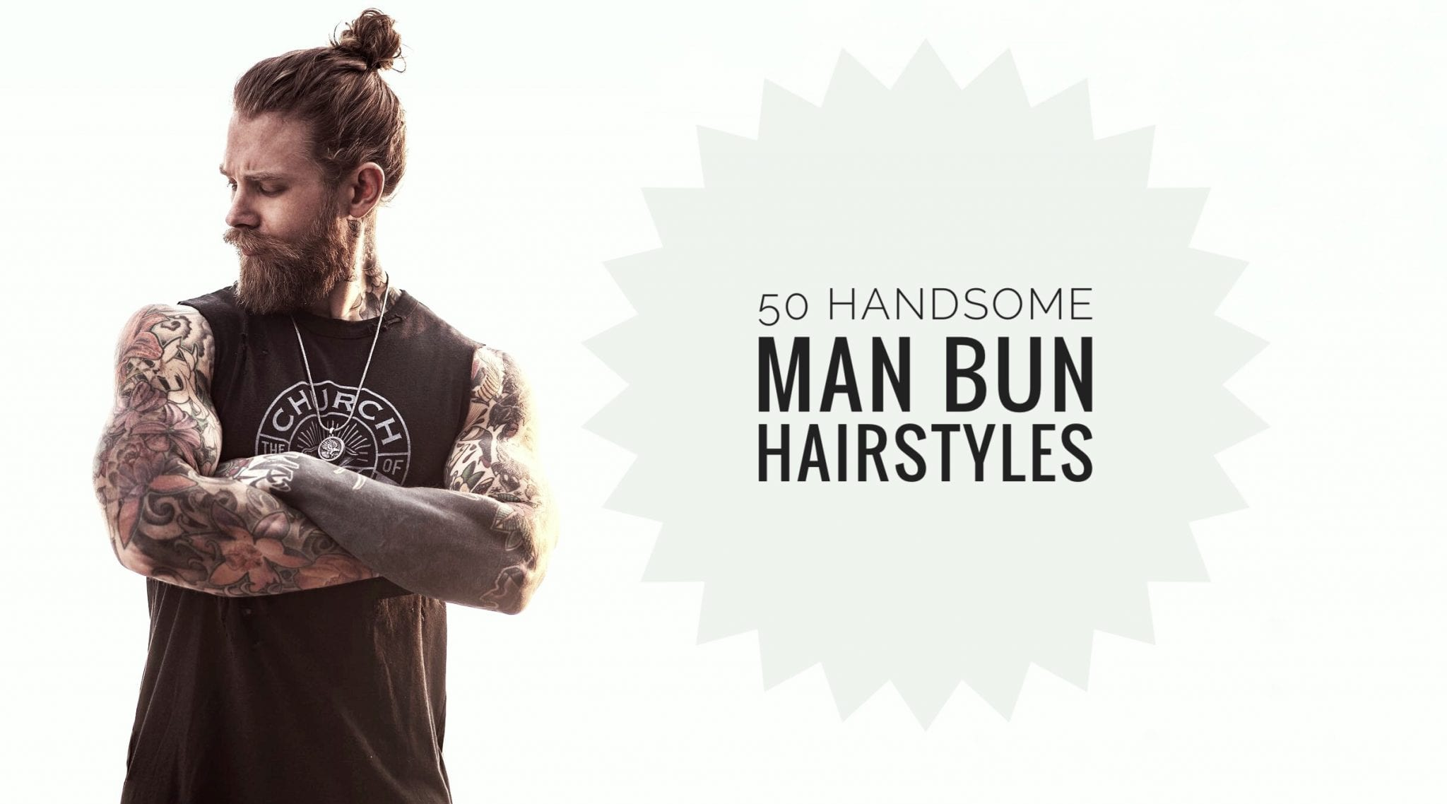 1bea48f11bbe6 50 Handsome Man Bun Hairstyles - Men Hairstyles World