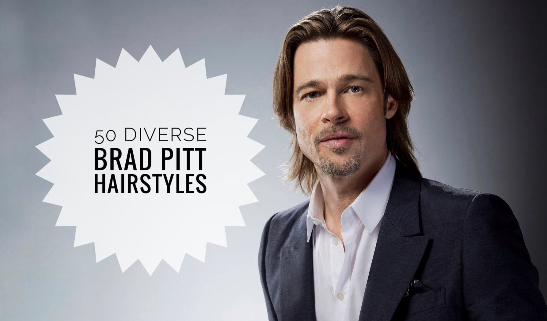 12 Diverse Brad Pitt Hairstyles for You to Try - Men Hairstyles World