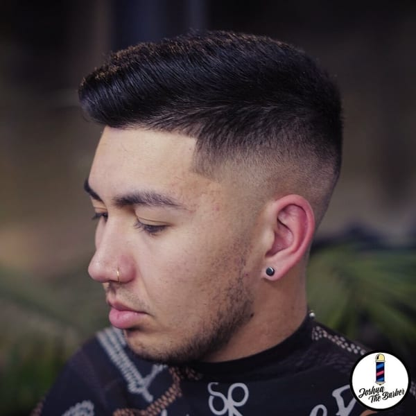 Joshua Haircut Tapered Fade Angle