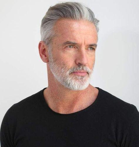 40 Men Hairstyles For Gray Silver Hair Men Hairstyles World