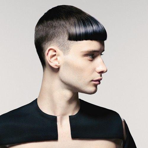 punk rock fringe haircut