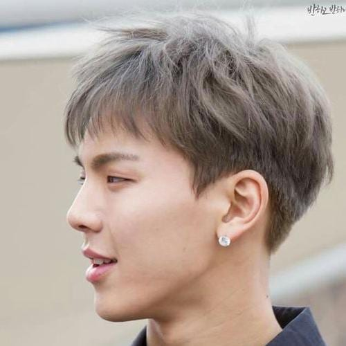 Short Bowl Cut Asian Haircut