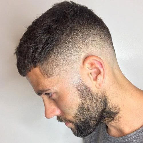 crew cut men's haircuts