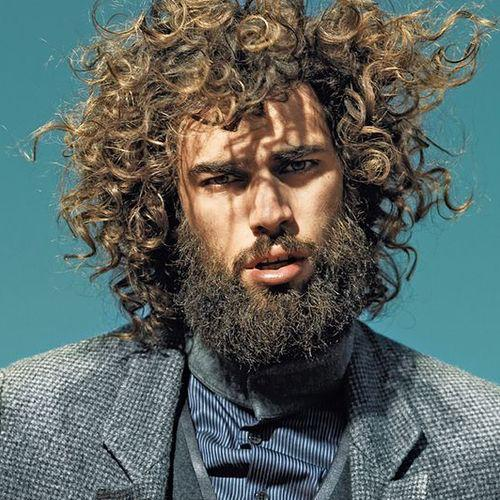 Epic Beard Style & Coiled Hair