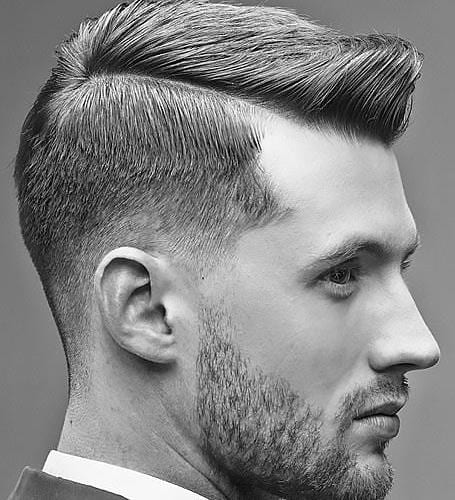 1950's Taper Fade Hard Part