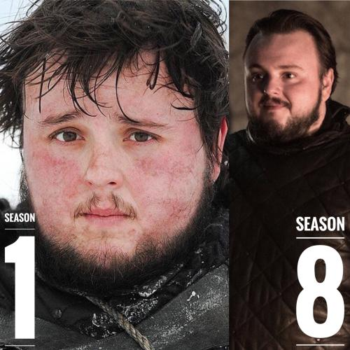 Samwell Tarly Hairstyles