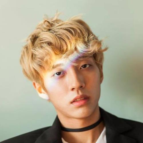 Blonde Fringe Asian Men Hairstyles