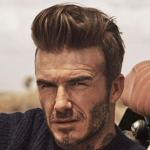 David Beckham Modern Side Swept Undercut