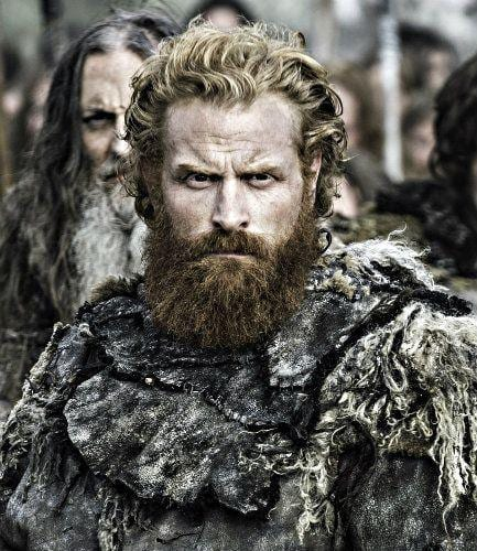 Tormund Hairstyle ginger hair game of thrones