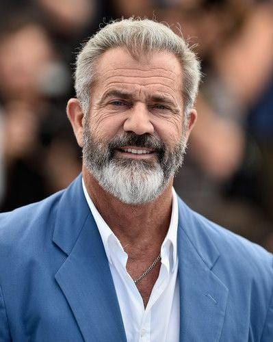 Mel Gibson Silver Fox Hairstyle