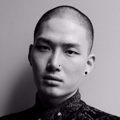 Buzz Cut Asian Men