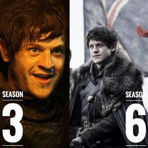 Ramsay Bolton Game of Thrones Hairstyles