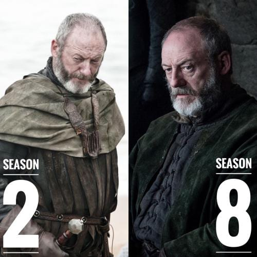 Davos Seaworth Hairstyles