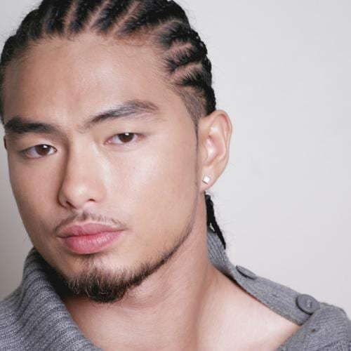 Asian Braids Hairstyles for Men