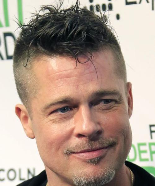 Brad Pitt Messy Hair