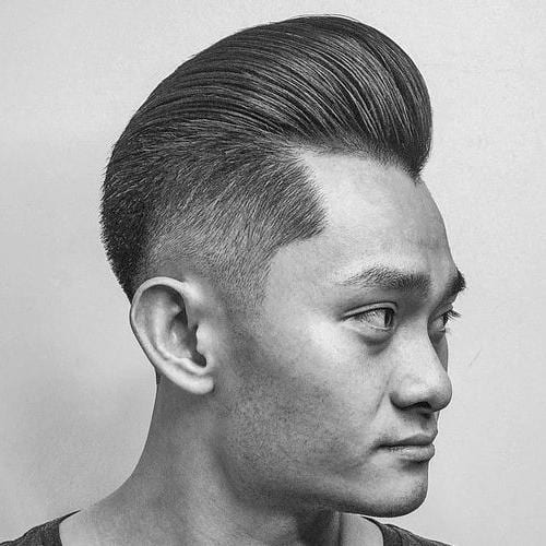 Thick Asian Pompadour