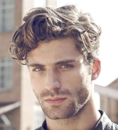 bedhead hairstyle for men