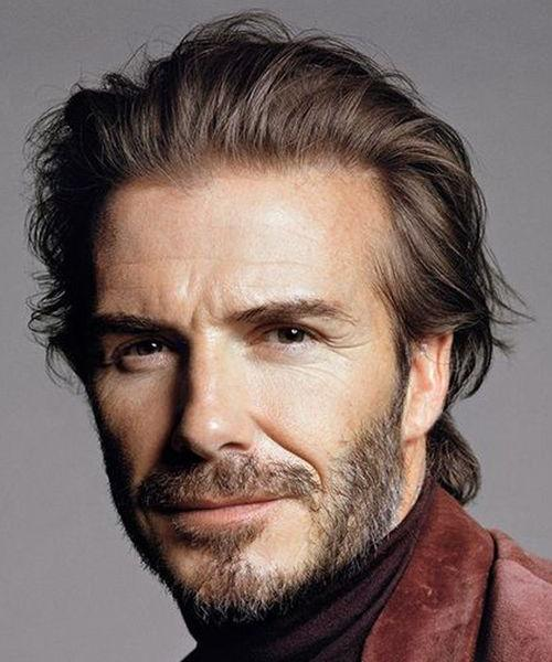 David Beckham Rugged Hairstyle