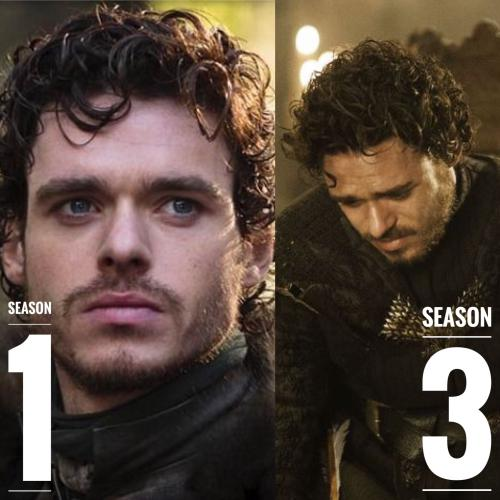 Robb Stark Game of Thrones Hairstyles
