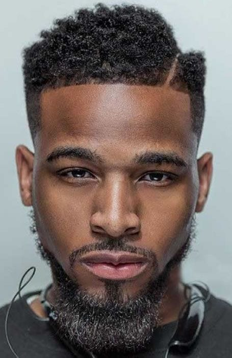 Side Part Hairstyle For Black Men