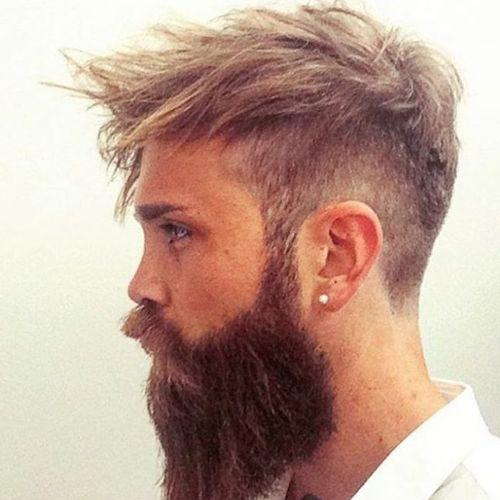 360 Undercut + Full Beard
