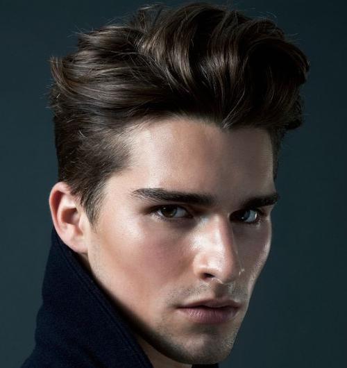 Valiant Pompadour Hairstyle
