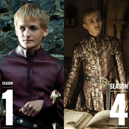 Joffrey Baratheon Hairstyles
