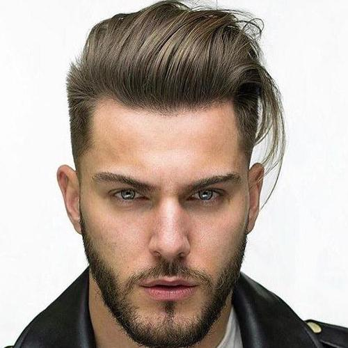 Quiff For Men with Tall Foreheads