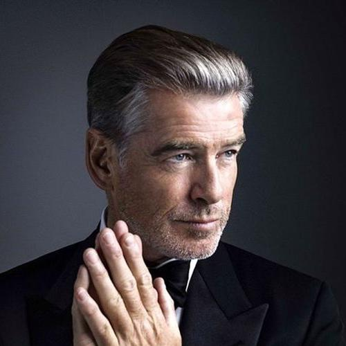 Pierce Brosnan Hairstyle For Older Men