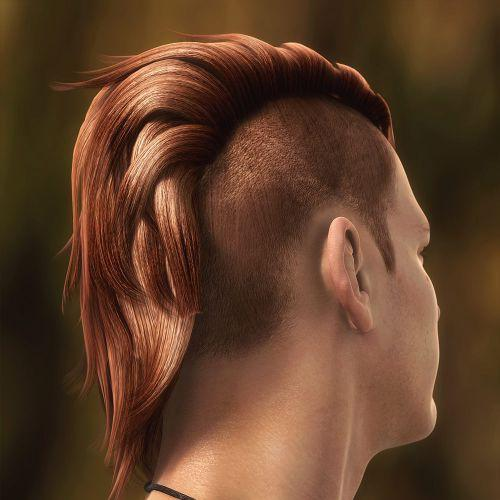 Punk Perfect Mohawk for men