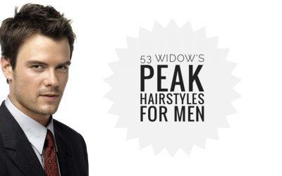 53 Widow's Peak Hairstyles for Men