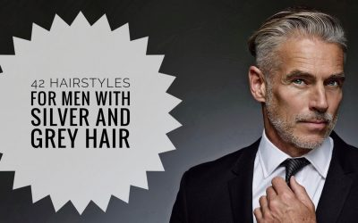 40+ Men Hairstyles for Gray & Silver Hair