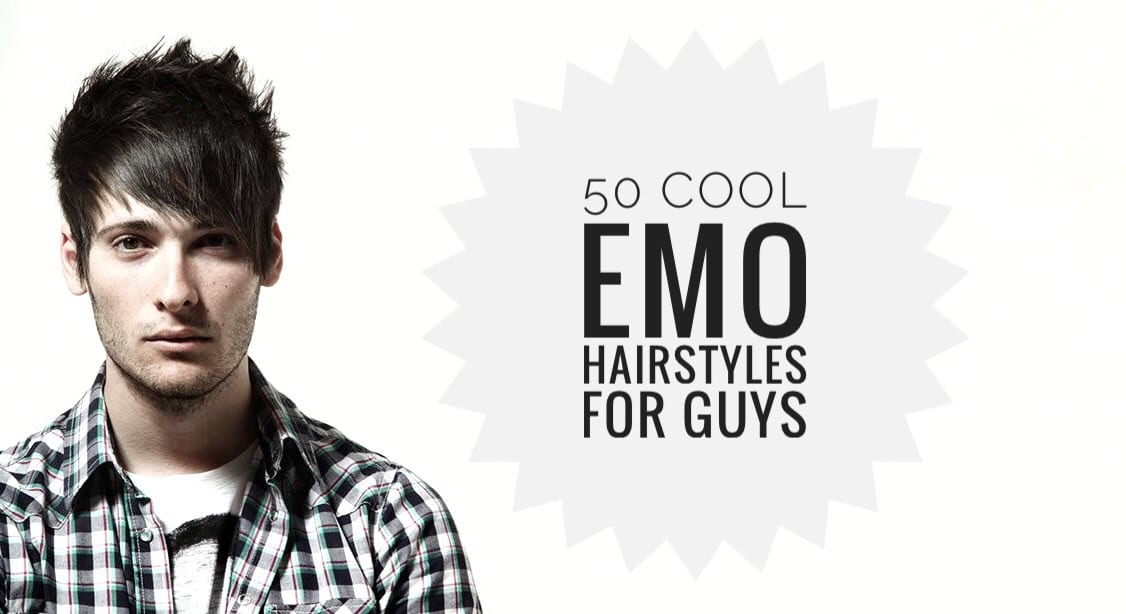 50 Cool Emo Hairstyles For Guys