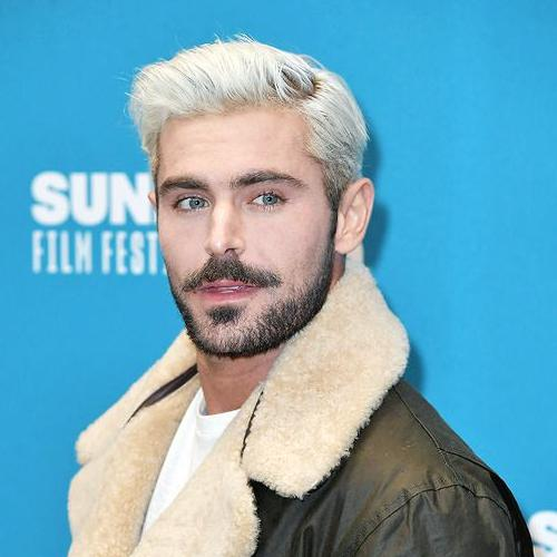 Platinum Blonde Zac Efron Haircut