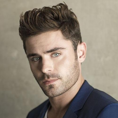 Short Sides Long Top Zac Efron Haircut