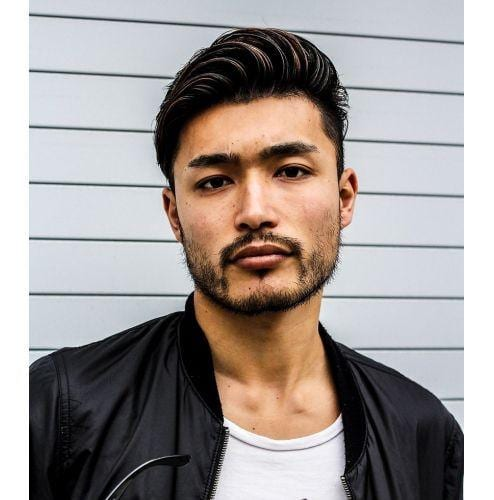 Asian Beard + Moustache