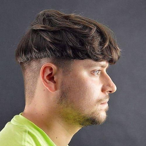 Wavy Bowl Haircut with Undercut