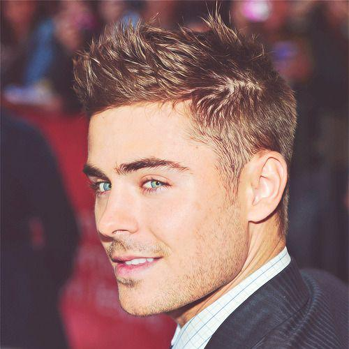 Taper Fade + Spiky Hair zac efron