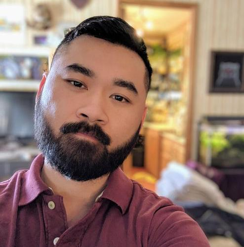 Full Asian Beard