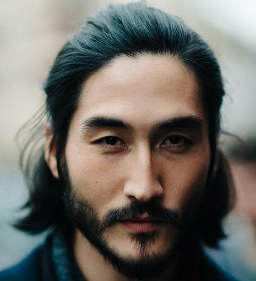 Medium Asian Beard Style