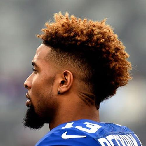Mohawk Twists Iconic Odell Beckham Jr Hair