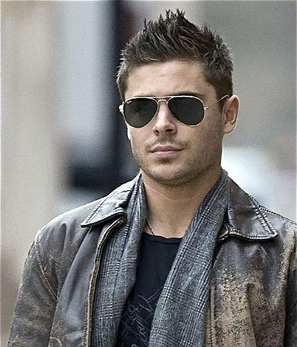 Spiky Quiff Zac Efron Haircut