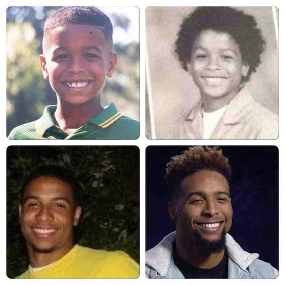 Odell Beckham Jr Hair Transformation