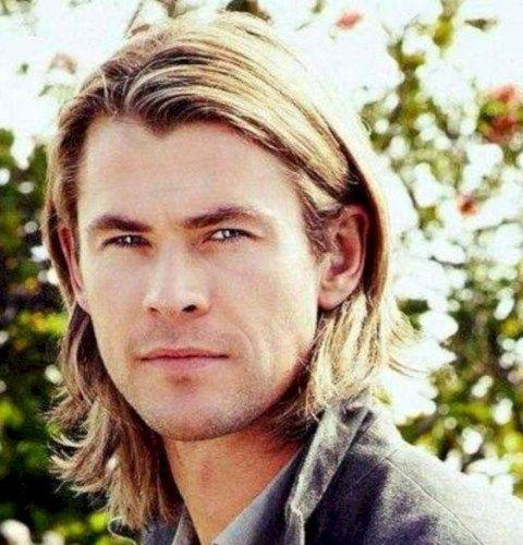 Shoulder Length Chris Hemsworth Hair