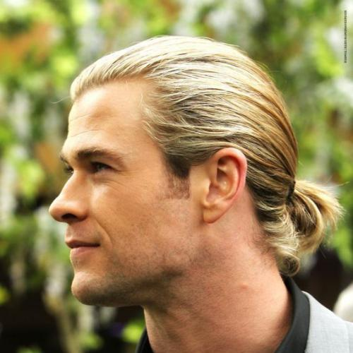 Pony Tail - Chris Hemsworth Long Hair