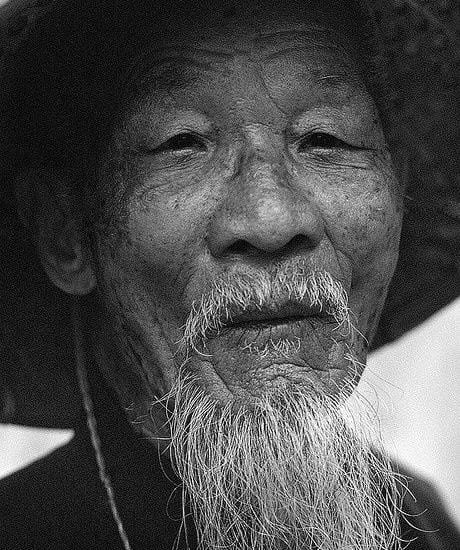 Beard Styles For Old Asian Men