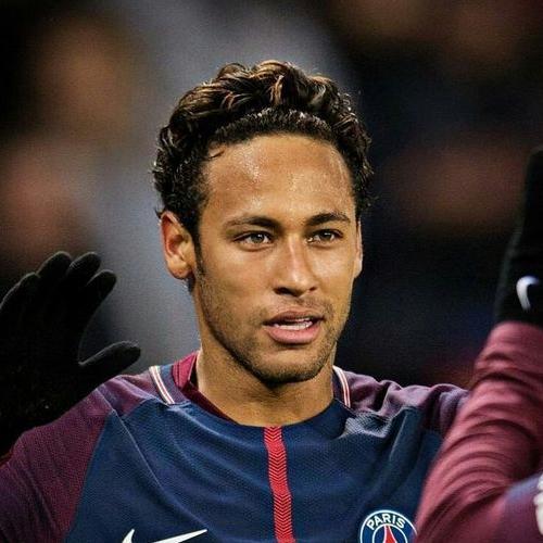 Curly Headband Neymar Haircut