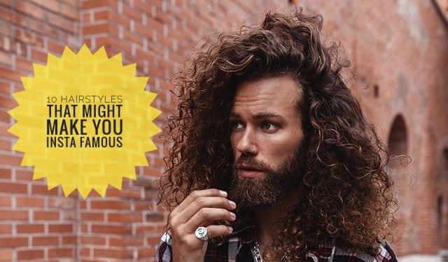 Insta Famous Hair Models Men