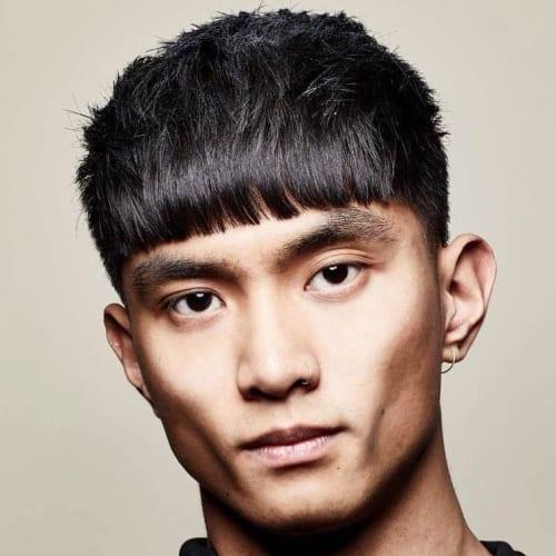 Asian French Crop Haircut