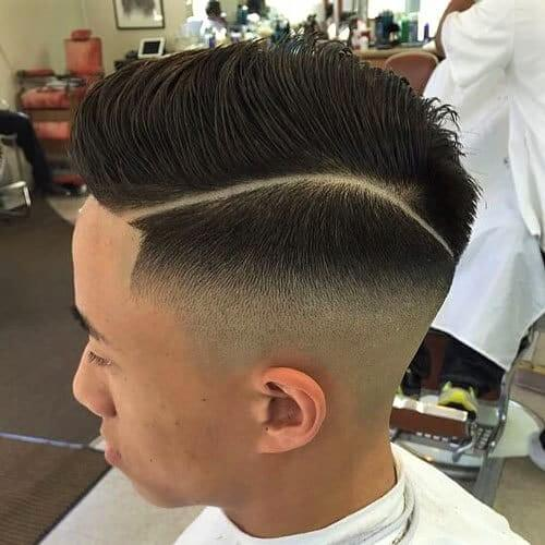 Wondrous High Top Fade Haircuts 50 Styles For All You Old School Souls Schematic Wiring Diagrams Amerangerunnerswayorg